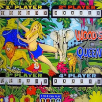 Wood's Queen (4 players)